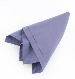 Amethyst Hemstitched Napkins - Set of 4