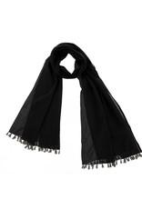Tassel Scarf - Black