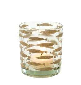 Fish in the Sea Votive - Grey