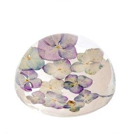 Hydrangea Botanical Paperweight