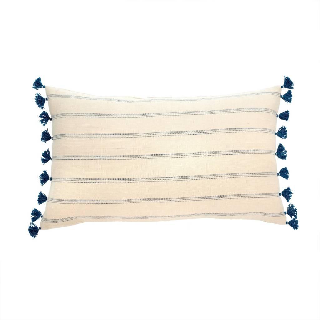 Indigo Stripe Pillow