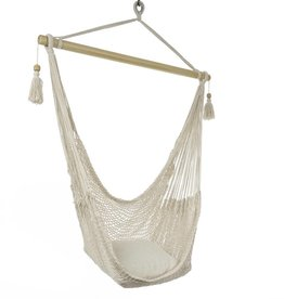 Woven Cotton Hammock Chair