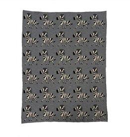 Zebra Herd Baby Blanket