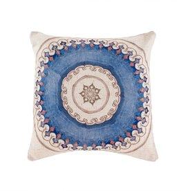 Moroccan Tile Pillow - 1