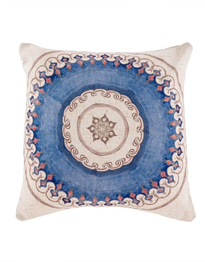 Moroccan Tile Pillow 1