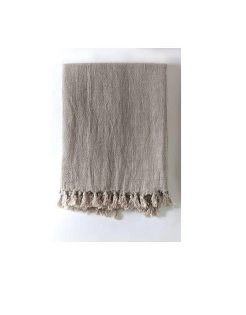 Pom Pom at Home Montauk Throw - Natural