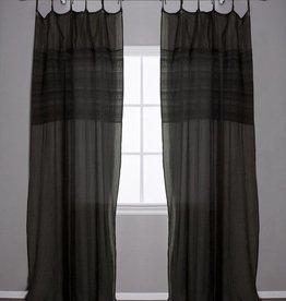 Pom Pom at Home Olivia Curtain Panel - Midnight