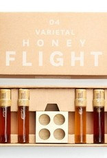 Four Fruit Varietal Honey Flight