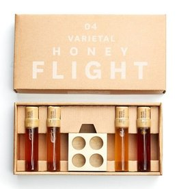 Four Fruit Varietal Honey Flight