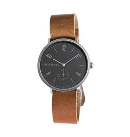 TOKYObay Noah NATO Watch - Brown + Black