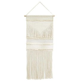 Pom Pom at Home Aya Wall Hanging - Ivory + Silver