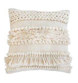 Pom Pom at Home Iman Square Pillow - Ivory