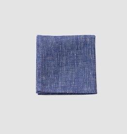 Fog Linen Handkerchief - Blue