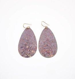 Sibilia Drop Earring - Purple