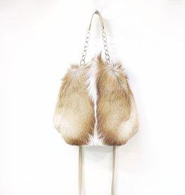 MooMoo Designs Tyler Handbag - Natural