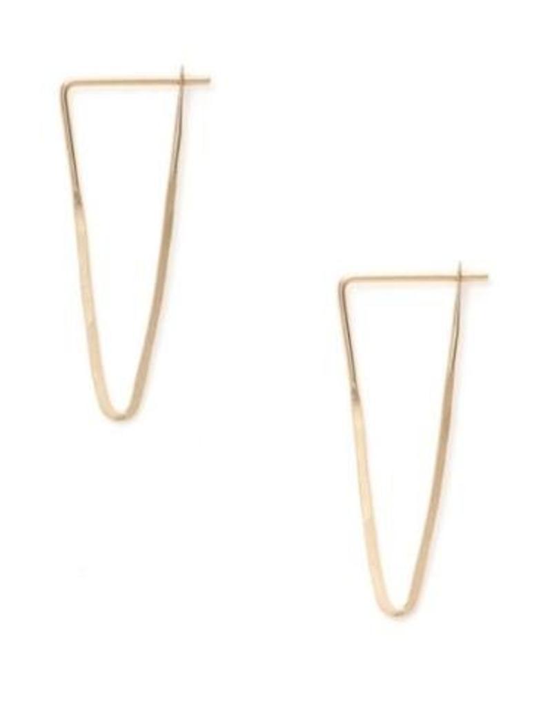 Satomi Studio Peak Hoop Earring - Small - alchemy