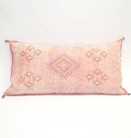House of Cindy Sabra Extra Large Lumbar Pillow - Pink