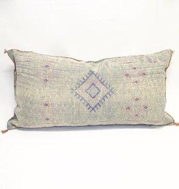 House of Cindy Sabra Extra Large Lumbar Pillow - Teal