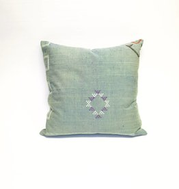 House of Cindy Sabra Large Square Pillow - Teal