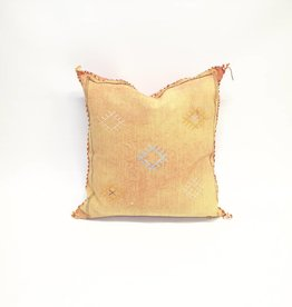 House of Cindy Sabra Small Square Pillow - Peach