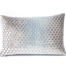 Kevin O'Brien Studio Dots Silk Velvet Pillow - Dusk