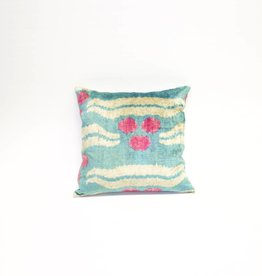 Tasdemir Rugs Ikat Silk Pillow - Square