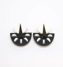 Finn Semi-Circle Earrings
