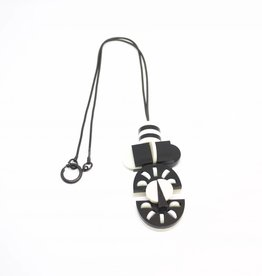 Finn Tribal Pendant - Black