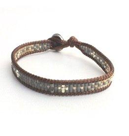 La Casa Cotzal MinI Cruz Bracelet - Black