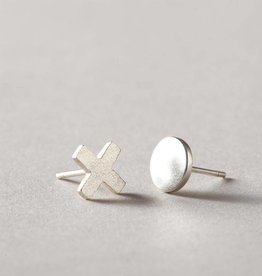 MulXiply XO Stud Earrings - Sterling Silver