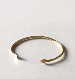 MulXiply Arrow Strand Bracelet - Brass