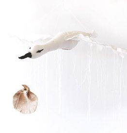 Tamar Mogendorff Flying Stork - White