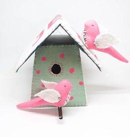 Tamar Mogendorff Medium Bird House - Fluorescent
