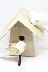 Tamar Mogendorff Medium Bird House - Tea Dye