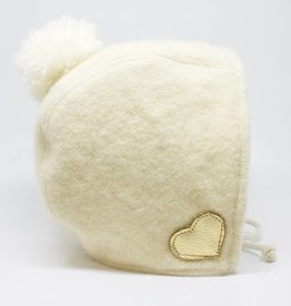 Nooks Mohair Bonnet - Cream