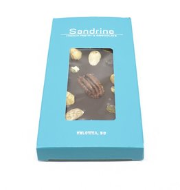 Sandrine's Dark Chocolate with Nuts and Dried Fruits Bar
