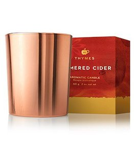 Thymes Simmered Cider Metallic Votive Candle