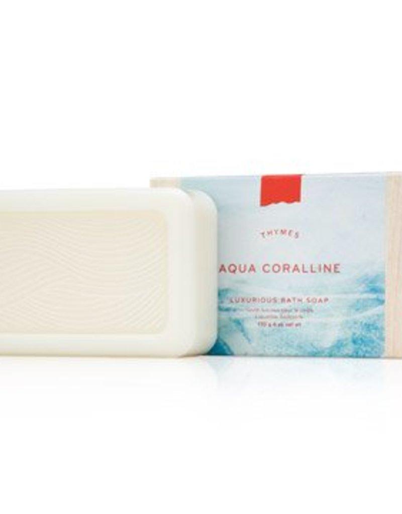 Thymes Aqua Coralline Luxurious Bath Soap