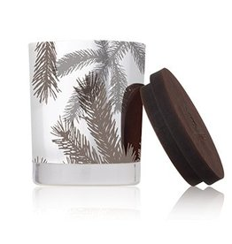 Thymes Frasier Fir Silver Pine Needle Statement Candle - Small