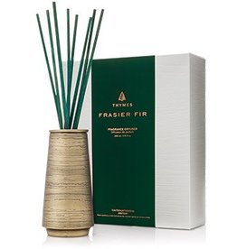 Thymes Frasier Fir Joyeux Reed Diffuser - Metal
