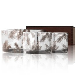 Thymes Frasier Fir Statement Candle Trio