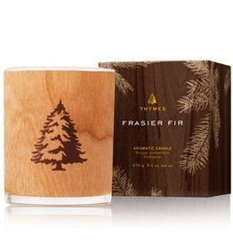 Thymes Frasier Fir Candle - Wood Wick