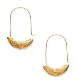 Satomi Studio Isis Hoop Earrings