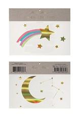 Meri Meri Rainbow Shooting Stars Tattoos