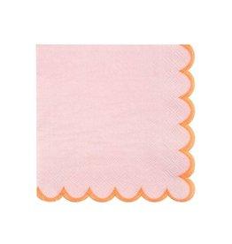 Meri Meri Pink Pastel Small Napkins