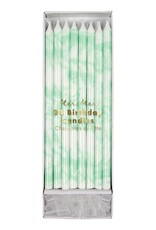 Meri Meri Birthday Candles - Mint Marbled