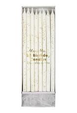 Meri Meri Birthday Candles - Gold Glitter