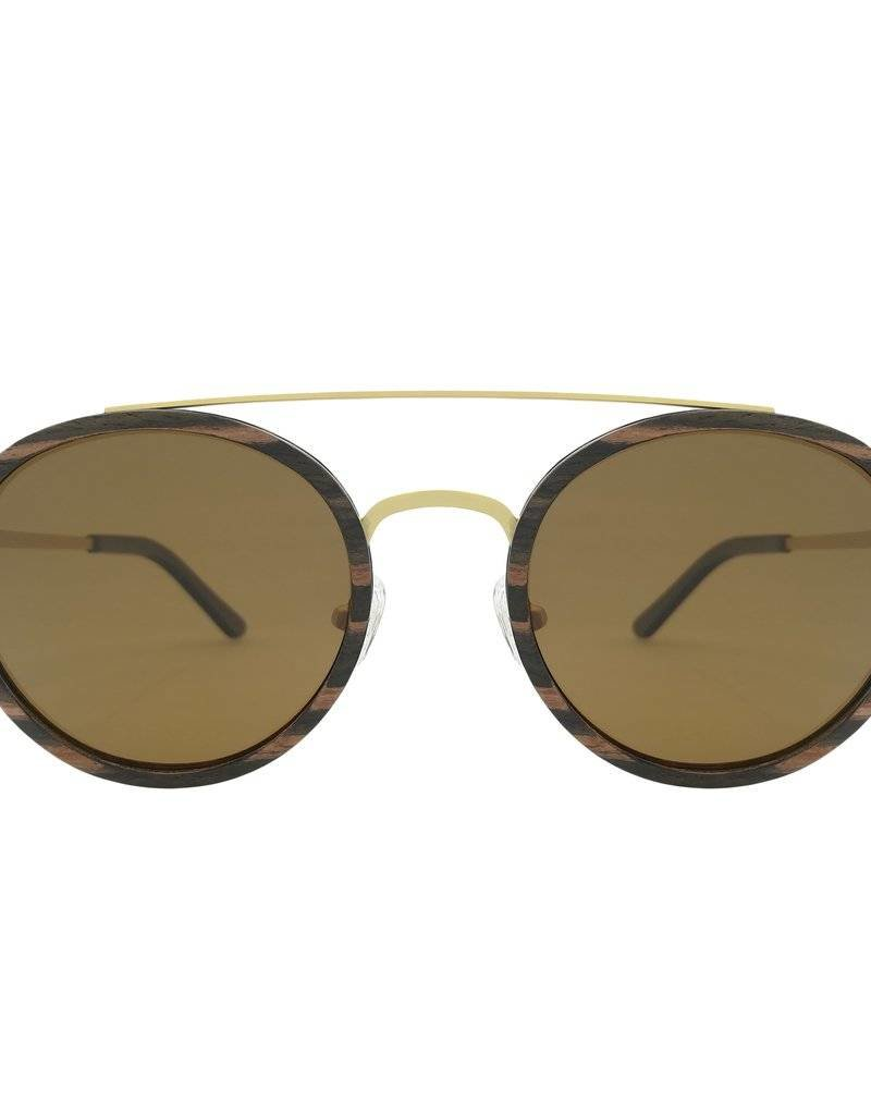 Analog Watch Co. Caden - Ebony + Brown Lens