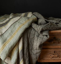 Traditions Linens Camp Throw - Lake Blue