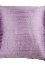 Eight Mood Dupione Square Pillow - Lavender